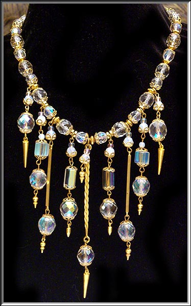 A Robert Rose necklace with matching bracelet.