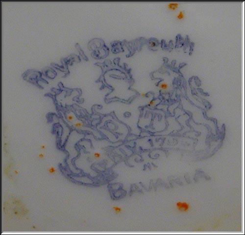 Antique Royal Bayreuth Bavaria Tomato Covered Bowl Sugar